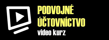 Video kurz podvojného účtovníctva