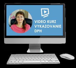 Vykazovanie DPH video školenie
