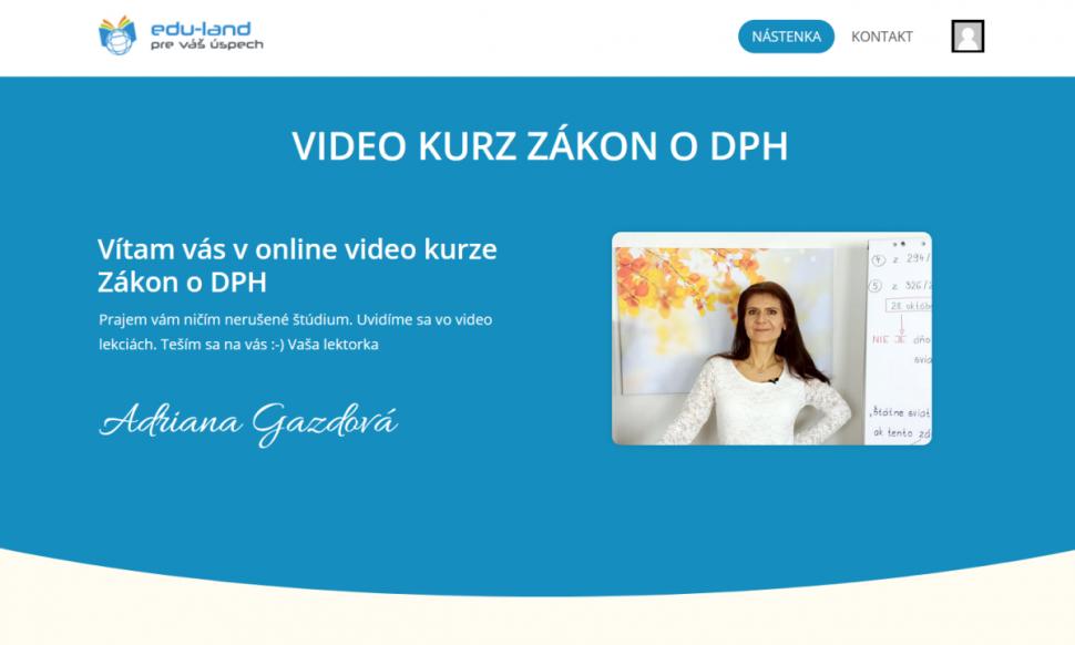 video školenie zákon oDPH